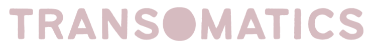 pink text saying 'transomatics'